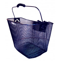 ADIE Front Mesh Basket with Plastic Holder