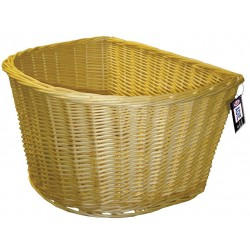 ADIE D Shape Wicker Basket 18 inch