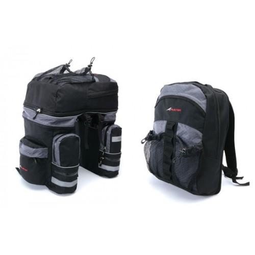 Avenir Deluxe Triple Pannier Bags