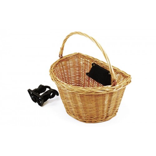 Wicker Basket  Clip-on Removable
