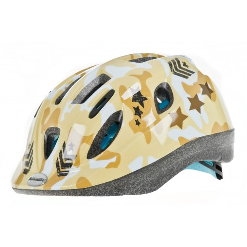 Raleigh Mystery Junior Cycle Helmet Camo Army