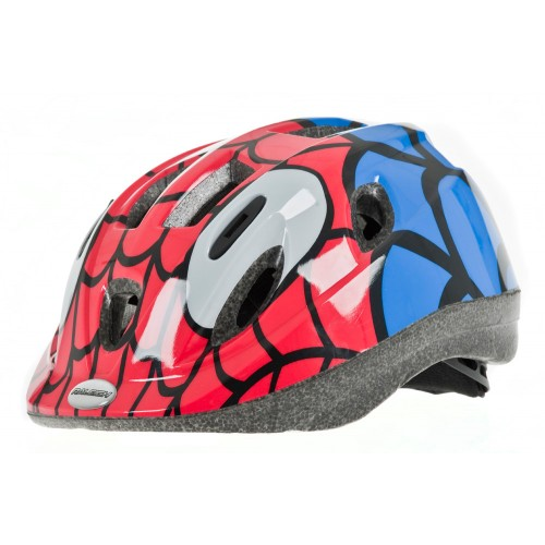 Raleigh Mystery Junior Cycle Helmet Red-Blue
