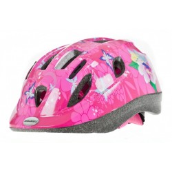 Raleigh Mystery Junior Cycle Helmet Pink Fairy