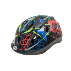 Raleigh Mystery Junior Cycle Helmet Blue Atoms