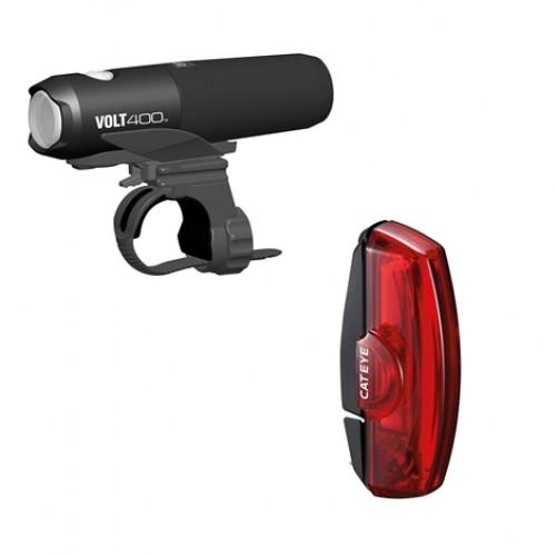 Cateye Volt 400 & Rapid X2 Set