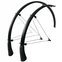 SKS Bluemels Matte Black Mudguards Set Road