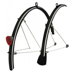 Tortec Reflector Full Length 700c Mudguards Black