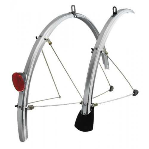 Tortec Reflector Full Length 700c Mudguards Silver