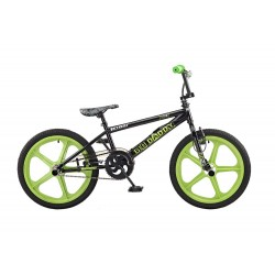Rooster Big Daddy Black - Green Skyway Mag Wheels BMX Bike