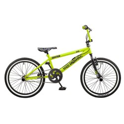 Rooster Big Daddy Green Spoked BMX Bike