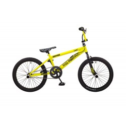 Rooster Big Daddy Yellow Spoked BMX Bike