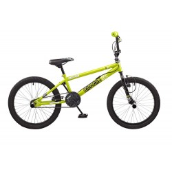 Rooster Radical 20 Green Freestyle BMX Bike