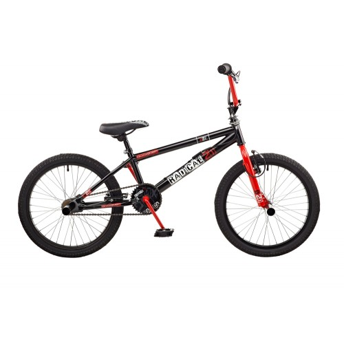 Rooster Radical 20 Black Red Freestyle BMX Bike