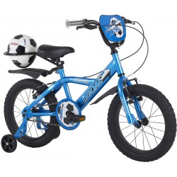 Bumper Goal 18 inch Blue Boys Bike 2014