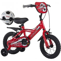 Bumper Goal 14 inch Red Boys Bike