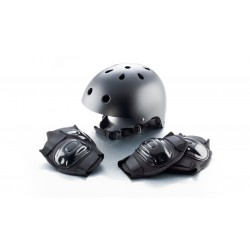 CBR BMX Skate Helmet Elbow Knee Pad Set