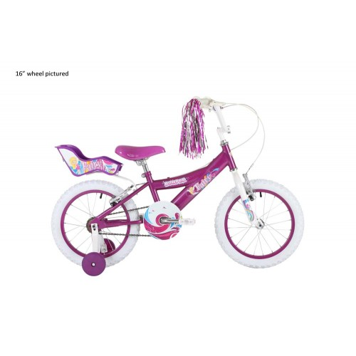 Bumper Fairy 18 Girls Pavement Bike
