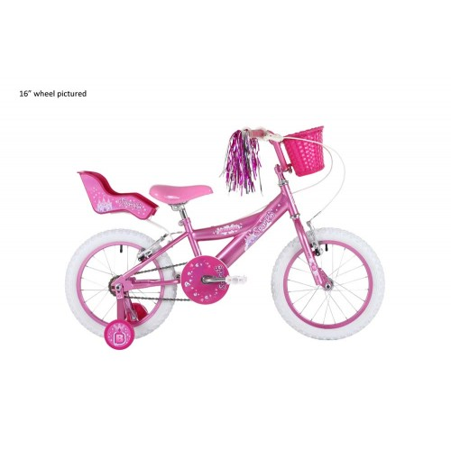 Bumper Sparkle 16 Girls Pink Pavement Bike