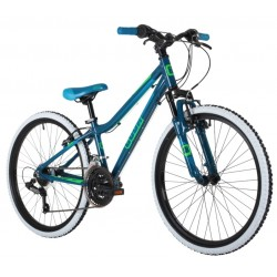 Cuda Kinetic 24 inch Alloy Mountain Bike Blue