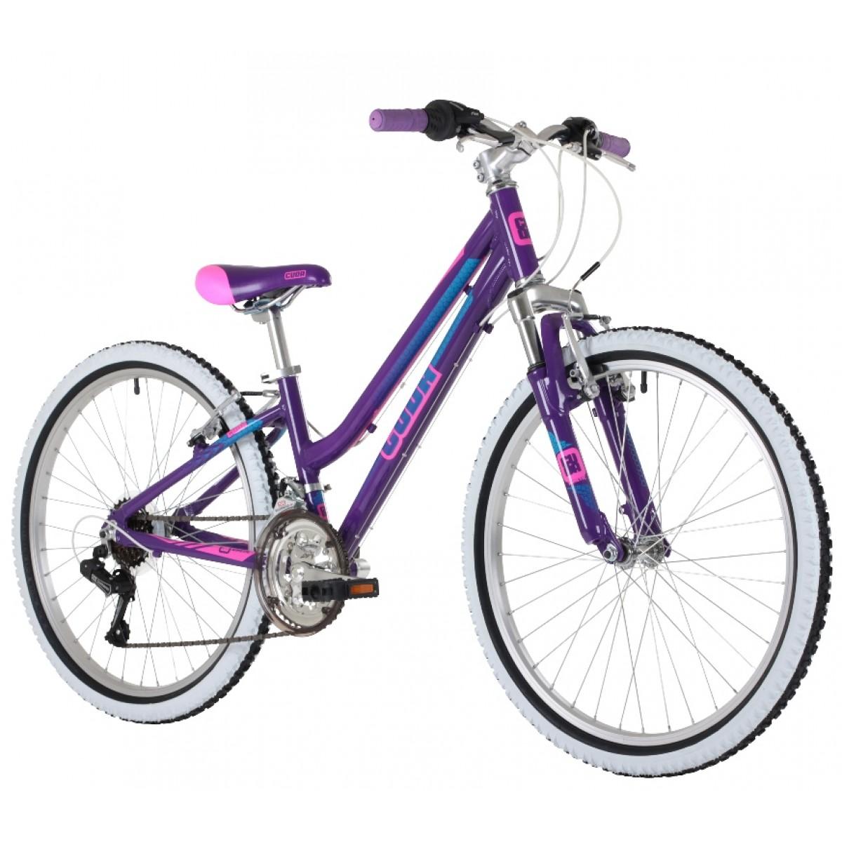 Cuda Kinetic 24 Inch Purple Alloy Mountain Bike