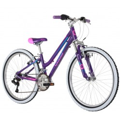 Cuda Kinetic 24 inch Purple Alloy Mountain Bike