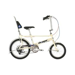 Raleigh Chopper Scooter Retro Pearl White Bike